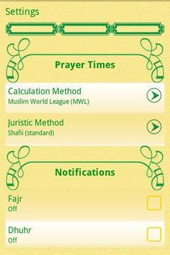 (Adhan, Qibla) MuslimDailyLite