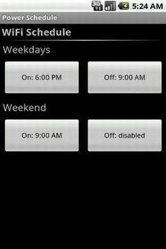 Power Schedule Basic