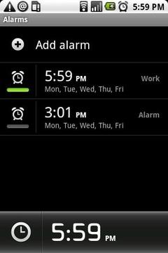 Klaxon - Alarm Clock (Demo)