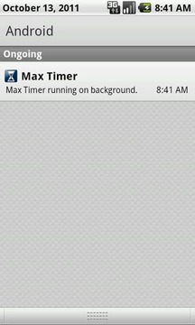 Max Timer