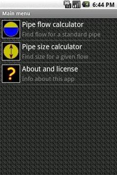 Drainage Calculator