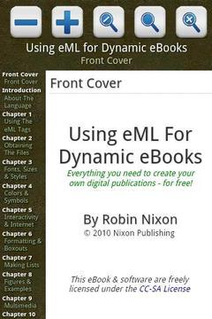 Using eML for Dynamic eBooks 2