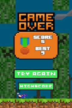 Flappy Craft - Minecraft Style