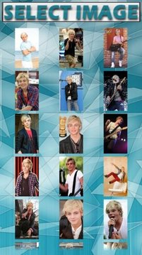 Ross Lynch Puzzle Game