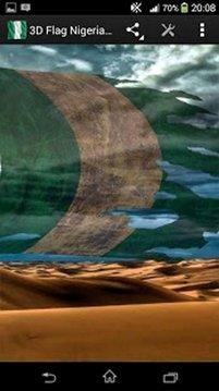 3D Flag Nigeria LWP