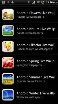 Nature Live Wallpaper HD Free