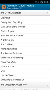 Modest Mouse Songs