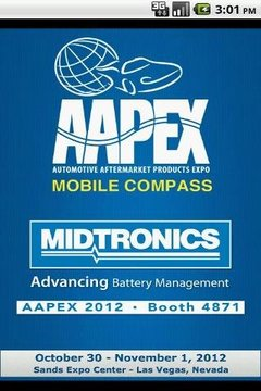 AAPEX 2012 Mobile Compass