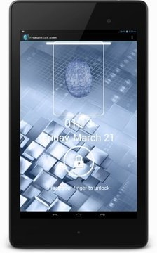 Fingerprint lockscreen