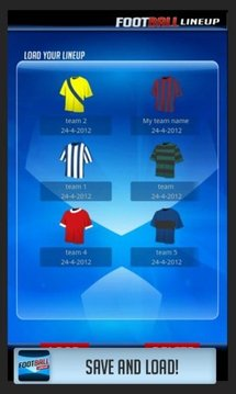 Football LineUp Free HD