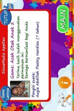 Game Asah Otak Anak 2