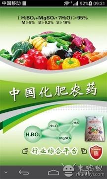 中国化肥农药