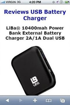 Reviews USB Battery Charger