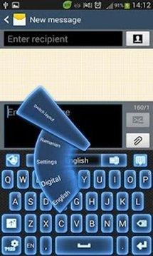 GO键盘霓虹灯