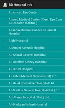 BD Hospital Info