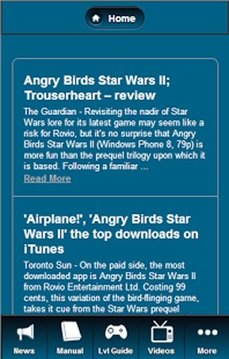 Angry Birds Star Wars 2 Manual