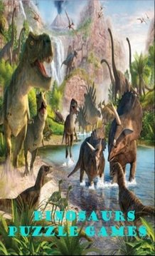 Dinosaurs Puzzle Games