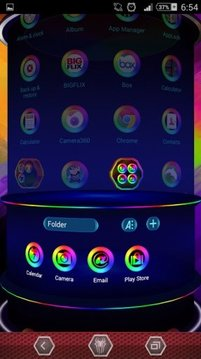 Spectrum Next Launcher 3DTheme