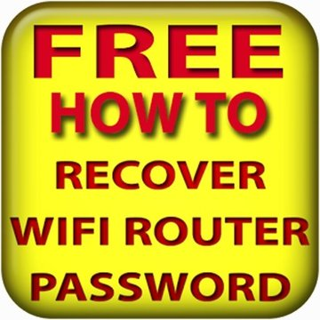 Recover wifi router password