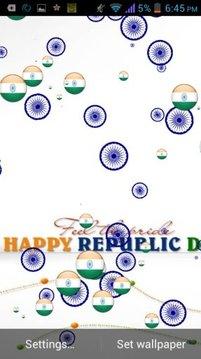 Republic Day Live Wallpaper