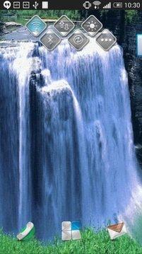 Light Waterfall Live Wallpaper