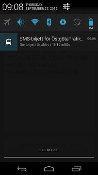 SMS-Biljett: ÖstgötaTrafiken