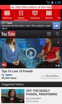 101 Tips For Losing 10 Pounds