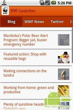 世界自然基金会加拿大新闻