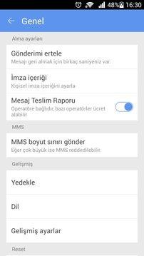 GO短信土耳其语言