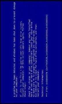 Windows Blue Fail Screen