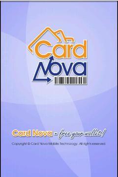 Card Nova Loyalty Card Manager