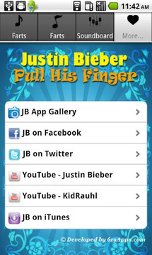 Justin Bieber Farts Soundboard