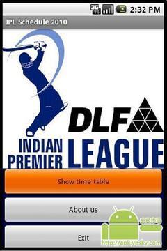 印度超级联赛日程表2010