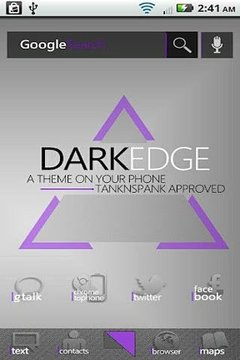 DarkEdge Purple (ADW Theme)