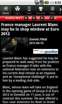 Fantasy Euro 2012