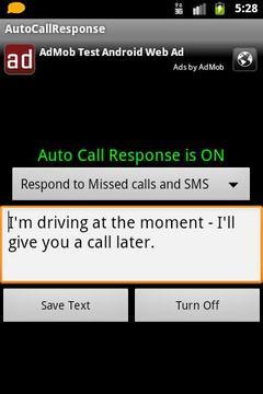 Auto Call Response