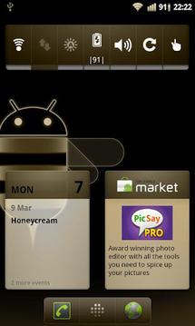 Honeycream Theme