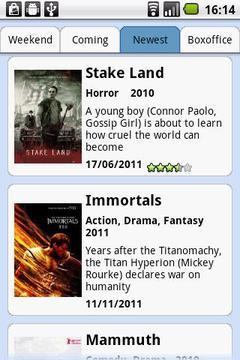 Movies at Cinema