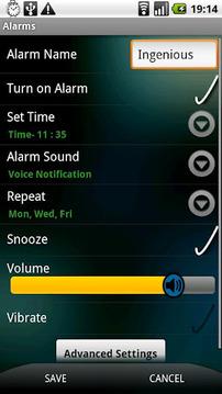 巧妙闹钟 Ingenious Alarm Trial v2.8.1