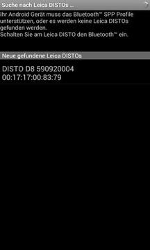 Leica DISTO™ transfer