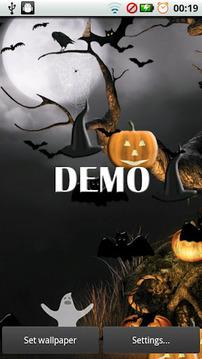 Halloween Live Wallpaper DEMO