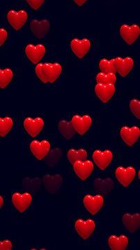Hearts 2D Live Wallpaper