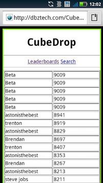 Cube Drop