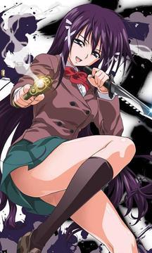 Wallpaper Sora no otoshimono Anime