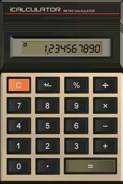 复古计算器 Retro Calculator