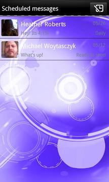 Purple ICS Bubblegum GO SMS
