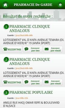 Pharmacie de Garde Maroc