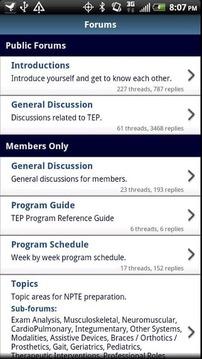 TEP Forums