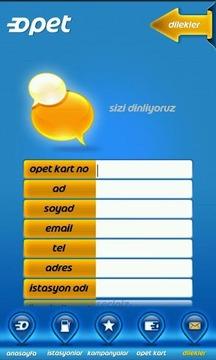 Opet Mobil Uygulaması