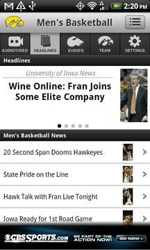 爱荷华大学体育网